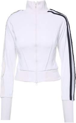 Y-3 Y 3 Side-stripe Cotton-blend Jacket