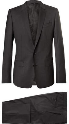 Dolce & Gabbana Grey Martini Slim-Fit Virgin Wool-Blend Suit