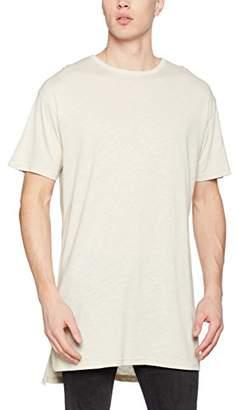 New Look Men's Longline Crew Neck T-Shirt