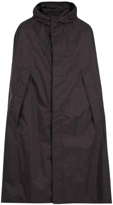 Prada Self-stowing hooded poncho