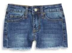Joe's Jeans Little Girl's Frayed Hem Stretch Denim Shorts