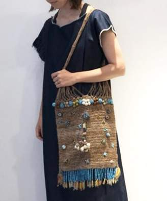 Journal Standard (ジャーナル スタンダード) - journal standard luxe 【IMAYIN/イマイン】 Palm basket with beads◆