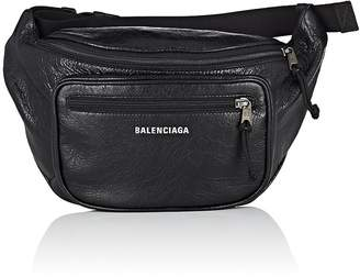 Balenciaga Men's Explorer Arena Leather Belt Bag