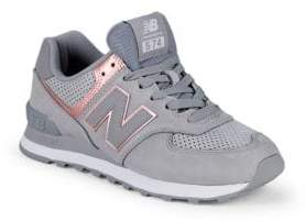 New Balance Suede Low-Top Sneakers