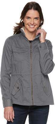 Sonoma Goods For Life Women's SONOMA Goods for Life Sherpa-Lined Utility Jacket