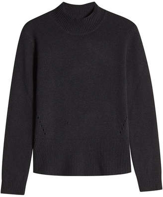 81 Hours Wool and Cashmere Turtleneck Pullover