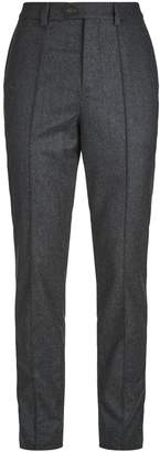 Brunello Cucinelli Wool Leisure Fit Trousers