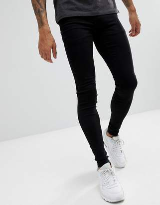 Blend of America flurry black extreme skinny jeans