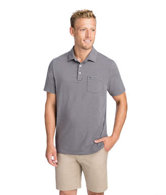 Vineyard Vines Colored Shep Stripe Edgartown Polo
