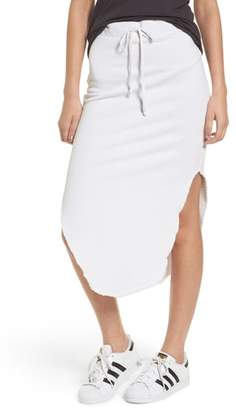 Frank And Eileen Midi Fleece Skirt