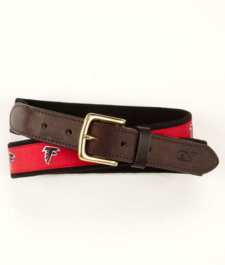 Vineyard Vines Atlanta Falcons Canvas Club Belt