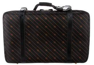 Gucci Vintage GG Canvas Suitcase
