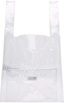 Maison Margiela Transparent PVC Monoprix Tote