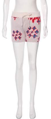 Baja East Cashmere Mini Shorts