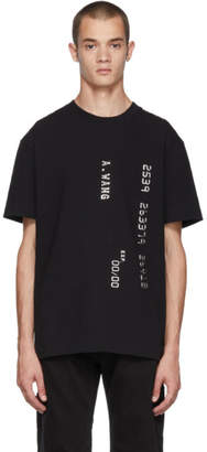 Alexander Wang Black Credit Card T-Shirt