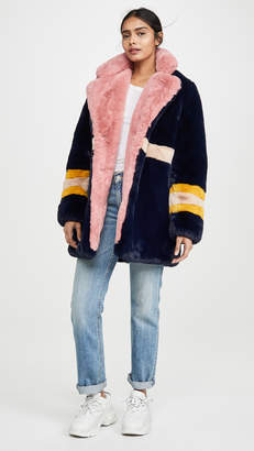Apparis Lisa Faux Fur Coat
