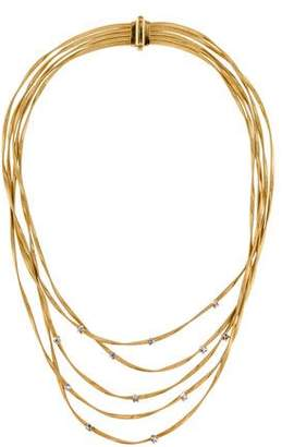 Marco Bicego 18K Diamond Marrakech Five Strand Collar Necklace