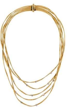 Marco Bicego 18K Diamond Marrakech Five Strand Collar Necklace