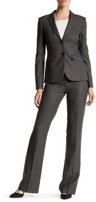 BOSS HUGO BOSS Tulea Woven Wool Blend Pant $285 thestylecure.com