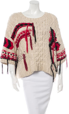 Isabel Marant Lucy Handknit Sweater