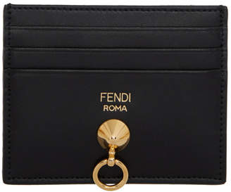 Fendi Black By The Way Card Holder