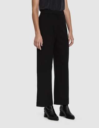 Mijeong Park Front Seam Wide Leg Pants in Black