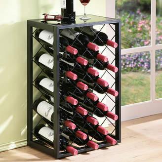 Red Barrel Studio Mooney 23 Bottle Floor Wine Rack