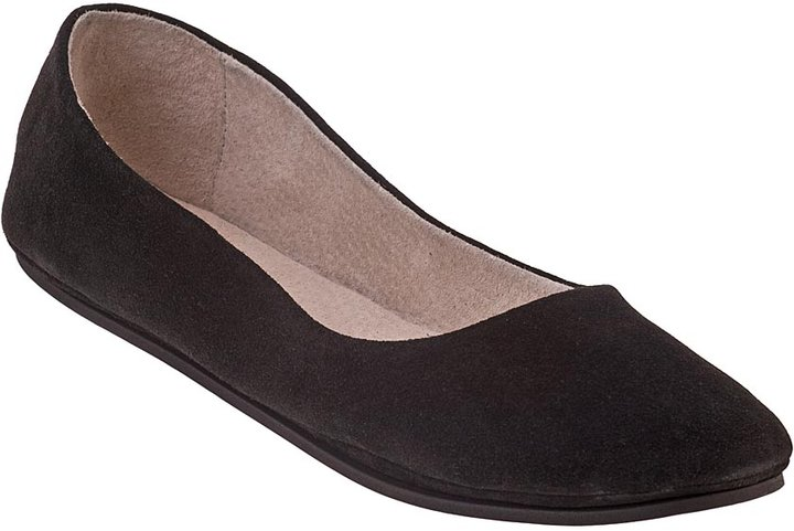 FRENCH SOLE Sloop Black Suede