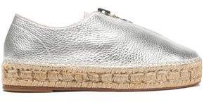 Alexander Wang Metallic Leather Espadrilles