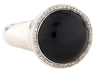 Ippolita Onyx & Diamond Cocktail Ring