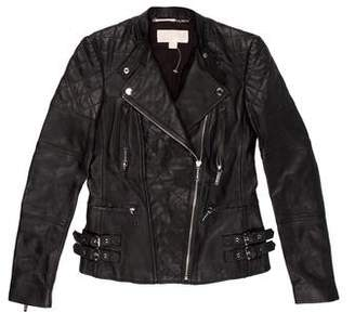 MICHAEL Michael Kors Quilted Leather Jacket