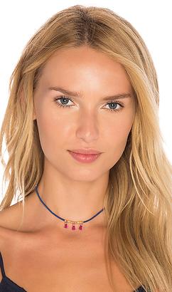 gorjana Miller Tassel Choker in Royal. $40 thestylecure.com