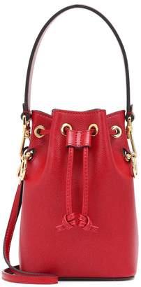 Fendi Mon Tresor Mini leather bucket bag