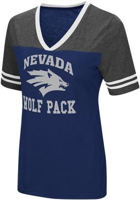 NCAA Unbranded Women's Nevada Wolf Pack Tee