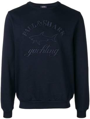 Paul & Shark embroidered logo sweatshirt