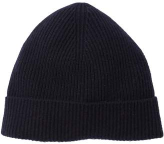 Theory Donners Cashmere Ribbed Knit Beanie