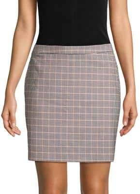 Vero Moda Plaid Mini Skirt