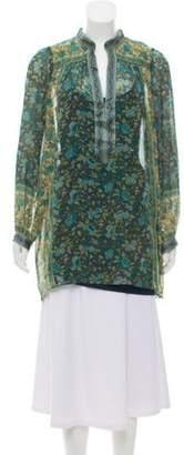 Joie Silk Printed Dress