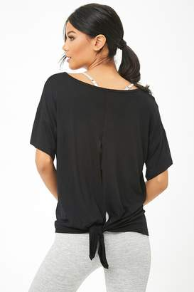 Forever 21 Active V-Neck Cutout Tee