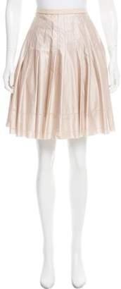 Ted Baker Pleated Knee-Length Skirt