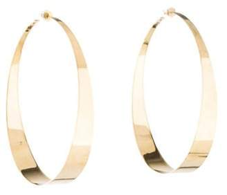 Lana 14K Hoop Earrings yellow 14K Hoop Earrings