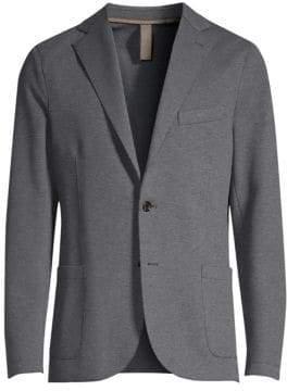 Eleventy Cotton-Blend Blazer
