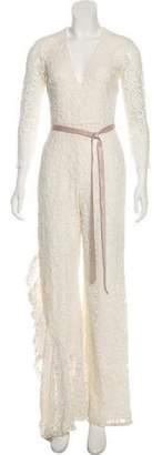 Alexis Long Sleeve Lace Jumpsuit