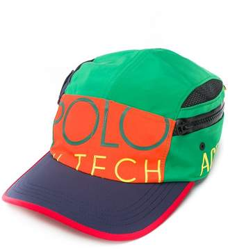 Ralph Lauren colour-block logo cap