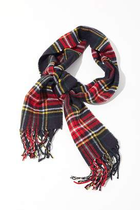 Urban Outfitters Prince Of Wales Checkered Scarf