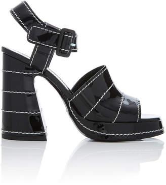 Proenza Schouler Patent-Leather Platform Sandals