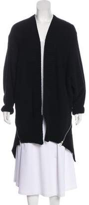 Alexander Wang Long Sleeve Merino Wool Cardigan