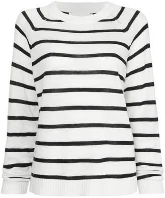 Bassike striped marine jumper