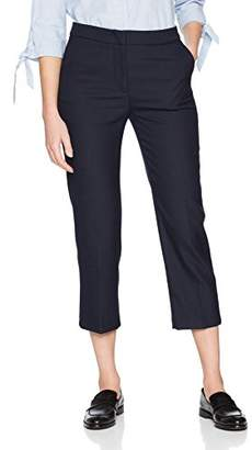 Sisley Women's Cropped Pants Trouser, (Blue 61y), (Size: 44)