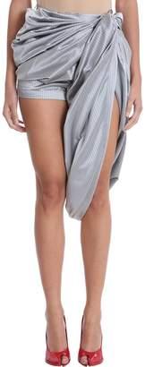 Y/Project Draped Asymmetric Shorts